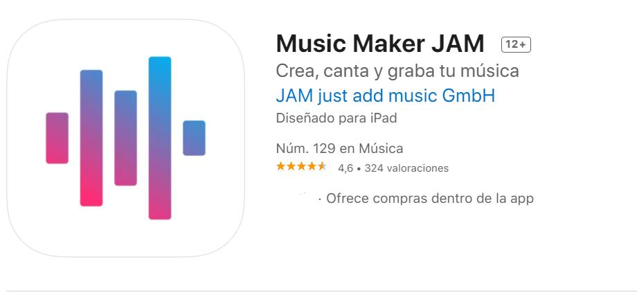 Music Maker JAM Fuente App Store