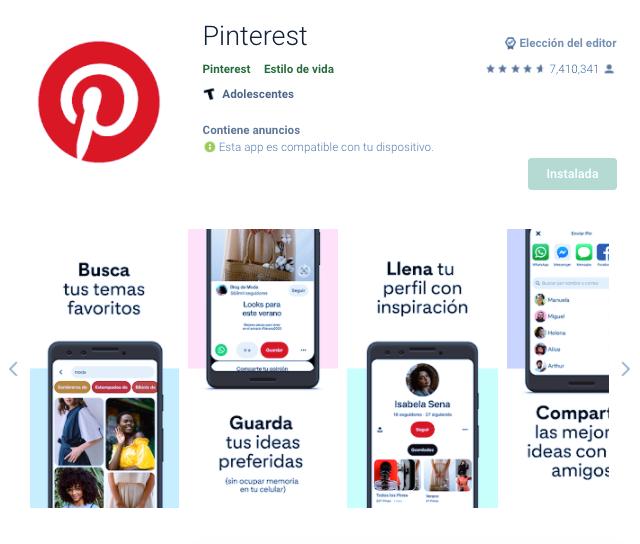 Cómo Bajar Y Utilizar App De Pinterest En Movil Android