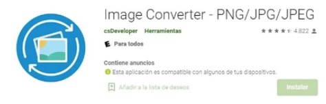Fuente: Google Play Store