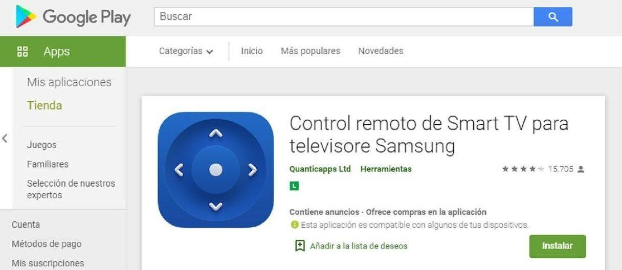 App Para Controlar TV Con Móvil Android