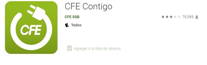 App CFE Para Android