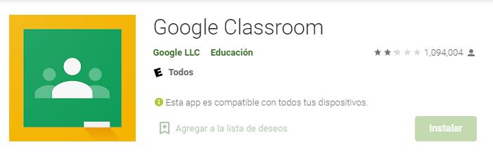 App Classroom Para Android